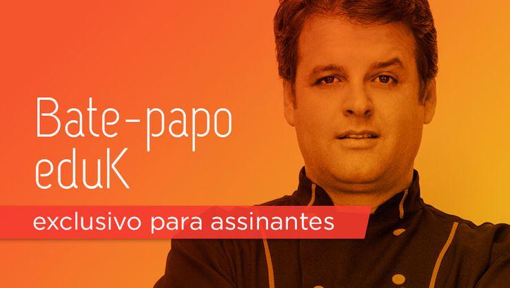 capa do curso Bate-papo eduK com Eduardo Beltrame desvendando a confeitaria