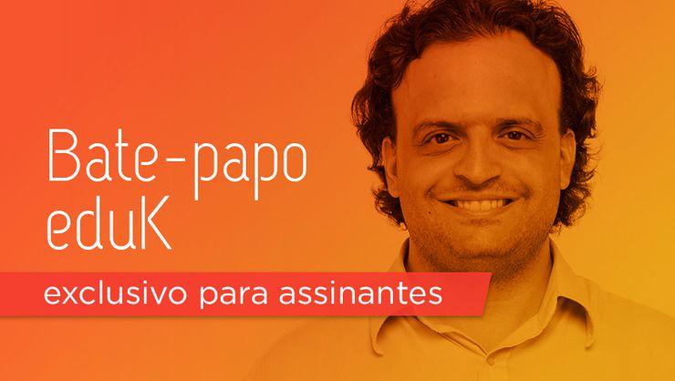 capa do curso Bate-papo eduK com Alberto Dell'Isola