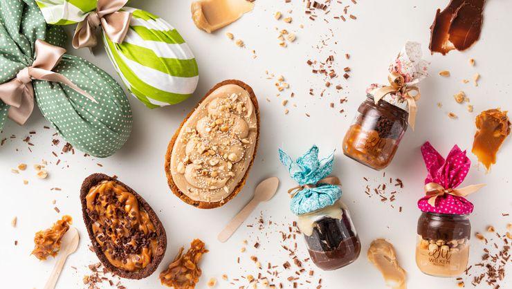 capa do curso Ovos de Páscoa: cascas de brownie e cookie