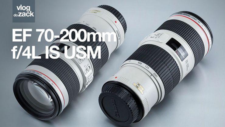 capa do curso Zack Testa - Canon EF 70-200 mm f/4L IS USM