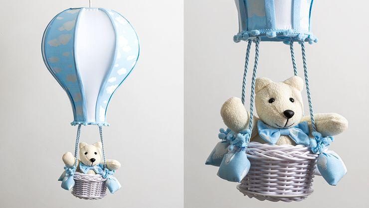 capa do curso Luminárias para quarto de bebê 3: lustre de balão