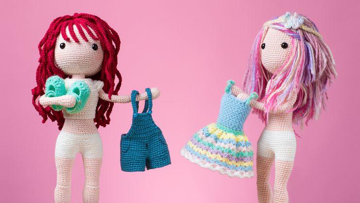 Boneca amigurumi/ boneca crochê (Angela) | Bonecas de crochê ... | 418x740