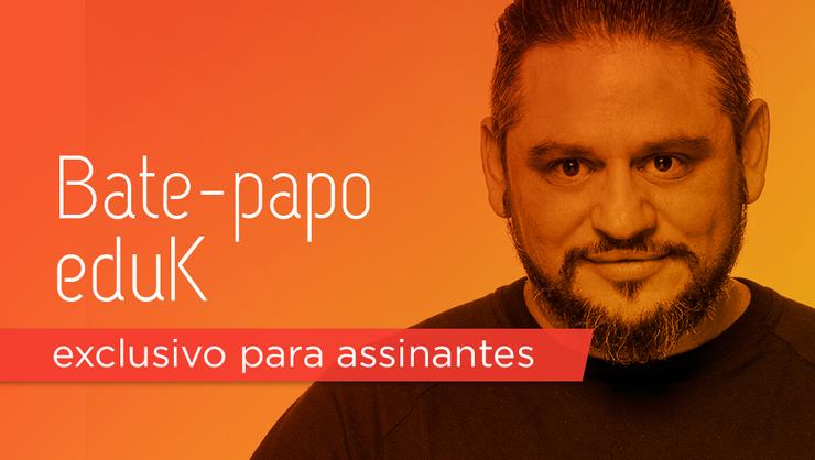 capa do curso Bate-papo eduK com Jota Santos