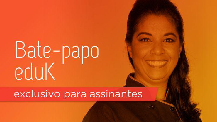capa do curso Bate-papo eduK com Silvia Nicolau
