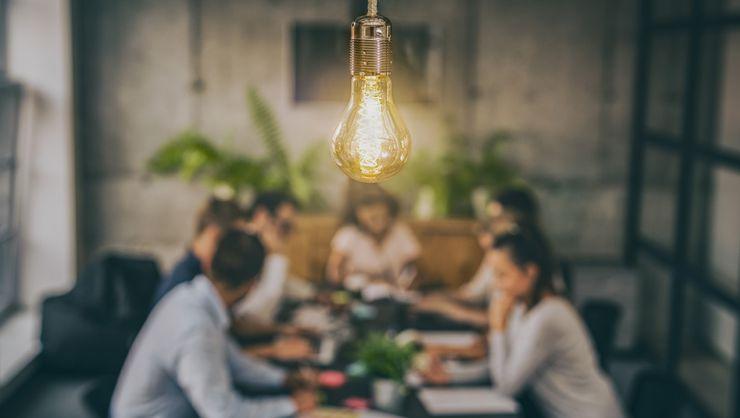 capa do curso Inovação para reestruturação do negócio