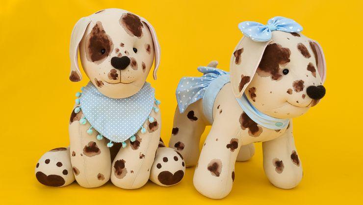 capa do curso Pets em tecido: cachorrinho 3D