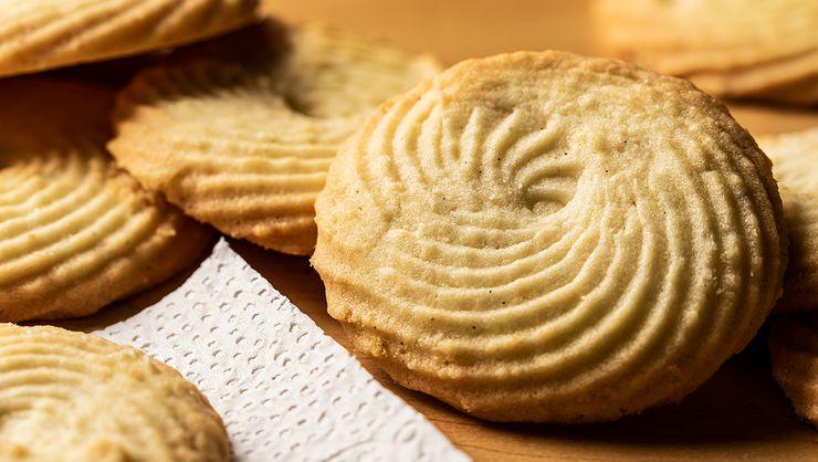 capa do curso Biscoitos amanteigados 1: biscoito tradicional