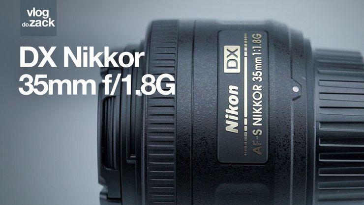 capa do curso Zack Testa - Nikon AF-S DX Nikkor 35 mm f/1.8G